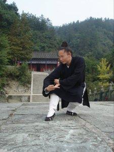 Maître YUAN Li Min, disciple de la 15ème génération Wudang Pai. Crédit photo : RING-WALKINS Lucia, disciple de la 16ème génération, et disciple de YUAN shifu